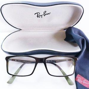 RAY BAN - Eyeglass Frames Style 5269 Black & Green